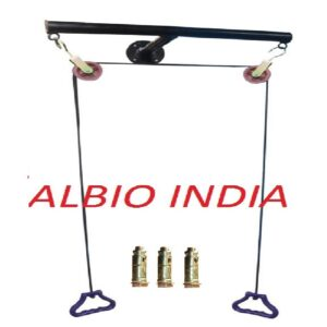 Albio Metal Wall Mounting T Shoulder Pulley Set for Frozen Shoulder Exercise